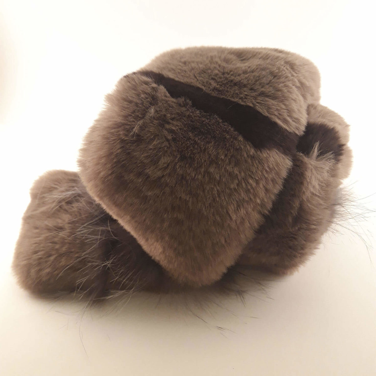 Light Brown Fur Scarf